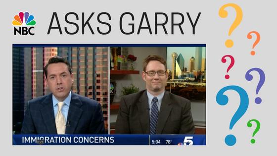 NBC 5 Asks Garry Davis | Dallas Immigration Attorney | Davis and Associates