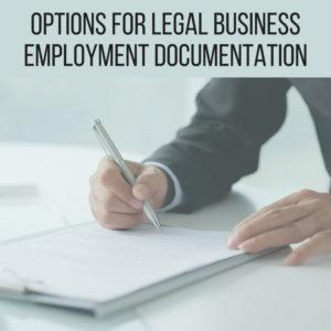Options for Legal Employment Documentation | Dallas Immigration Lawyer | Davis & Associates