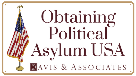 Obtaining Political Asylum USA