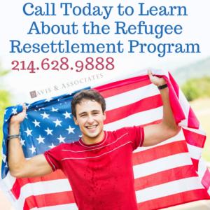 Call for United States Refugee Resettlement Program Info