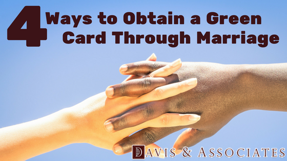 4 Ways to Obtain a Green Card Marriage