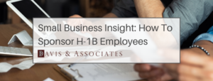 Small Company H-1B Visas