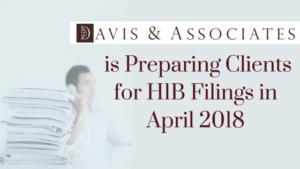 Davis & Associates is Preparing Clients for H1B Filings in April, 2018