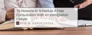 Scheduling a Free Consultation with a professional immigration lawyer'