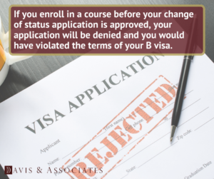 Why Do B-1 and B-2 Visa Holders Get Their F-1 Visa Denied?