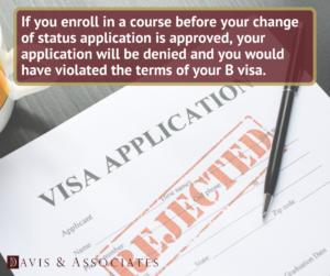 Why Do B-1 and B-2 Visa Holders Get Their F-1 Visa Denied?