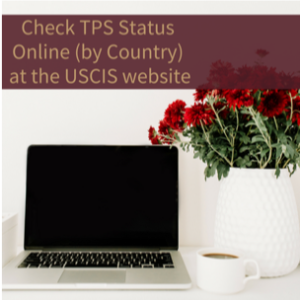 Check Temporary Protected Status Online