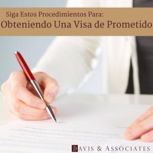 Calificaciones para una visa de no inmigrante de prometido (S) K-1