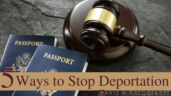 5 Ways to Stop Deportation