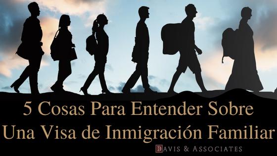 5 cosas Para Entender acerca de la ley de inmigración familiar