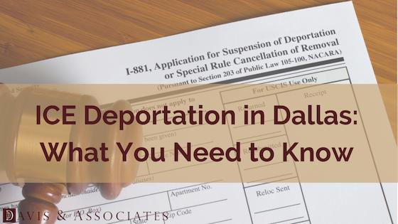 ICE Deportation Banner
