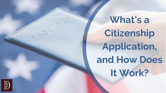What's a Citizenship Application