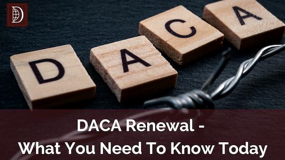 DACA Renewal Banner