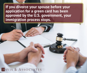 Dallas Immigration Attorneys - Divorced After Receiving a Green Card