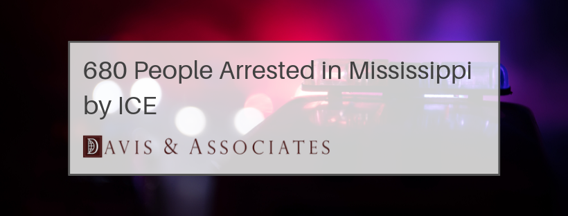 680 people Arrested in Mississippi by ISIS
