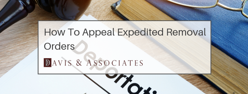 How to Appeal Expedited Removal Orders