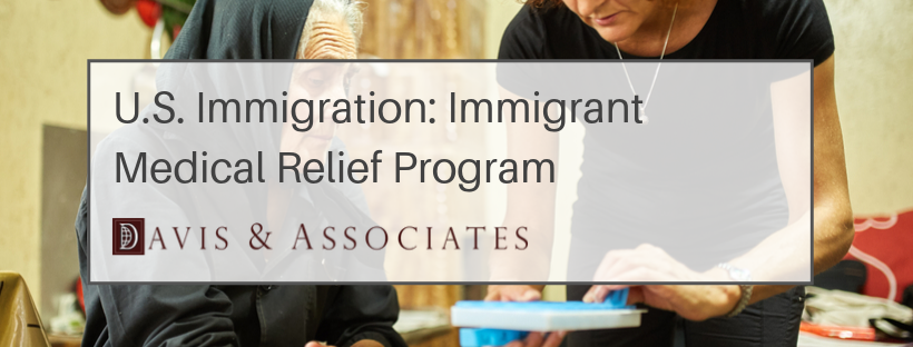 U.S. Immigration: Medical Relief Program