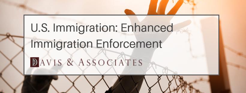 U.S. Immigration: Enhanced Immigration Enforcement