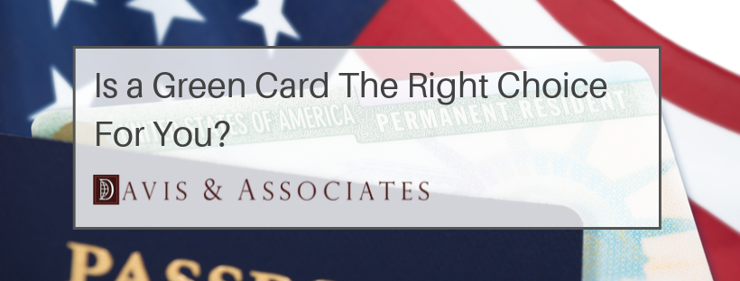 Pros and Cons About Green Cards