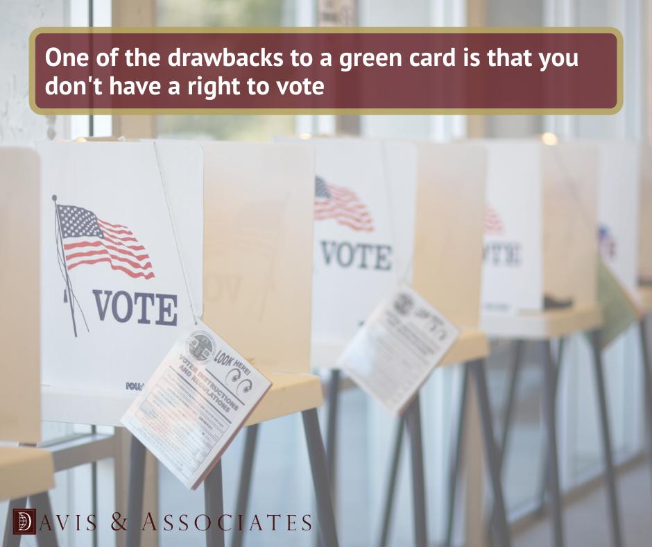 Greencard Drawbacks