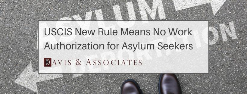 Asylum Seekers- Obtaining Work Authorization