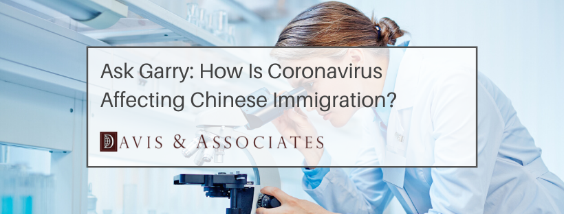 Coronavirus and Chinese Immigration