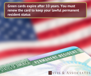 Green Cards Expire