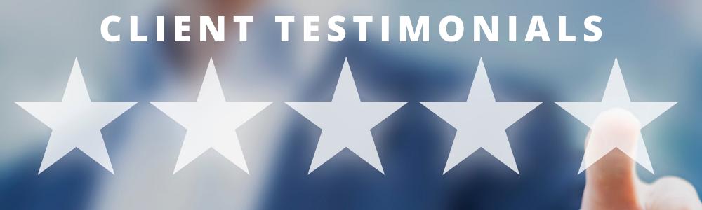 Davis & Associates Client Testimonials