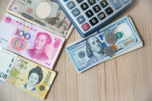 Many Banknote Currency, Yen-japan,dollar-usa,yuan-china, Won-kor