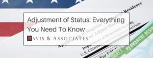 4. Adjustment of Status Guide Banner