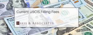 USCIS Filing Fees