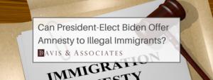 President Biden and Amnesty