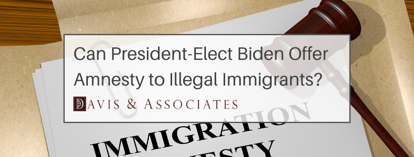 President Biden and Amnesty