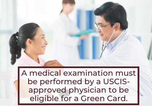 Medical Examination - Green Card Eligibility