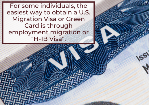Employment Work Visas - H-1b Visas - Davis & Associates