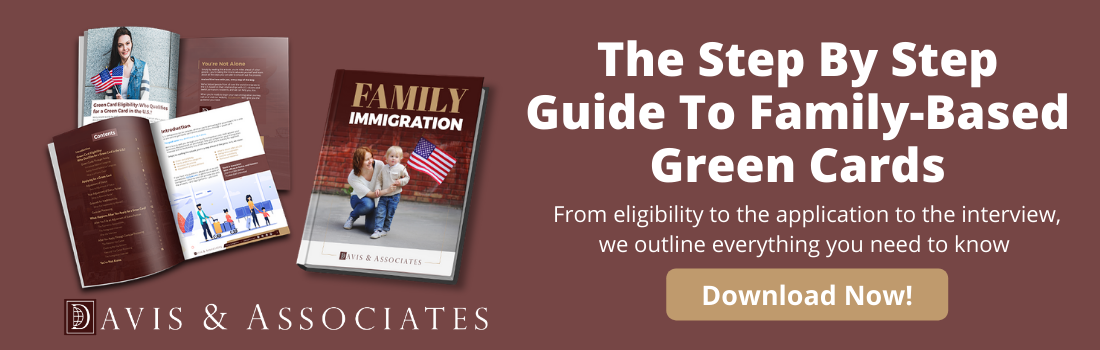 Family-Based Green Cards with Davis & Associates