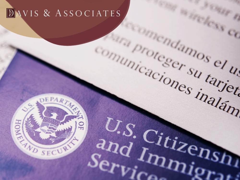 Citizenship Application - Davis & Associates