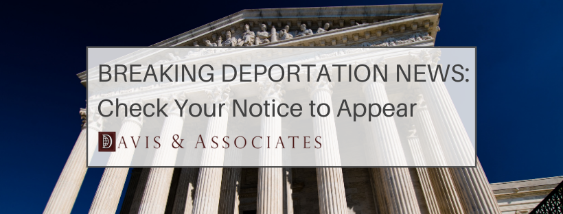 BREAKING NEWS FOR REMOVAL PROCEEDINGS: Niz-Chavez v. Garland and Notices to Appear