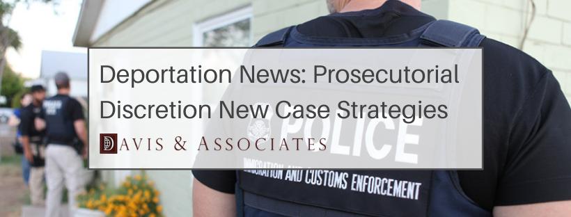 ICE - Prosecutorial Discretion