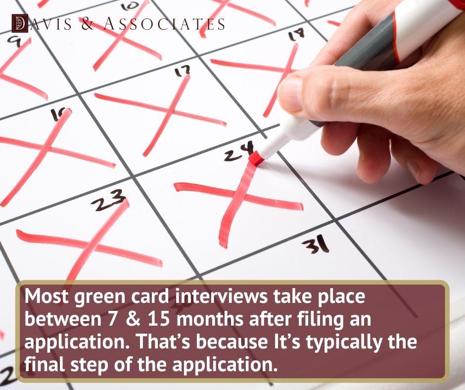 Green Card Interview - Davis & Associates
